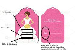 Ghi nhãn hiệu quần áo đúng tiêu chuẩn của pháp luật