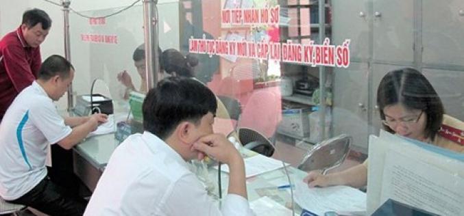 Thủ tục đổi giấy chứng nhận đăng ký xe máy khi thay đổi thông tin